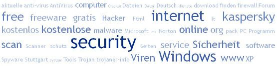 Free Security Software - Gratis Windows Internet Sicherheit - Freeware kostenlos