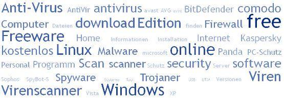 Free PC-Schutz online - Security Freeware, Windows Virenscanner - Spyware, Trojaner und Viren finden