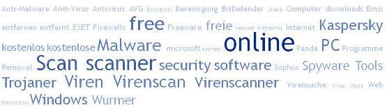 Virenscan kostenlos - Security Tools gegen Trojaner, Viren, Spyware, Malware